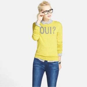 Halogen Nordstrom>> Oui In Yellow Sweater